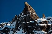 Porta Vescovo Peak On The Ski Resort Of Arabba, Dolomites Alps, Italy