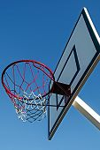 Panel Basketball Hoop-