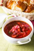 foto of pampushka  - Russian cuisine  - JPG