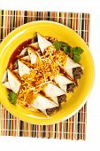 pic of enchiladas  - A traditional Mexican food - JPG