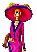 stock photo of skeleton  - Day of the dead - JPG