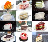 picture of fancy cakes  - Delicious cakes as cream cake fruit cake and etc - JPG