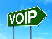 picture of voip  - Web design concept - JPG