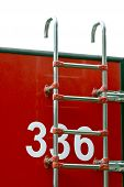 picture of ladder truck  - Fire engine ladder - JPG