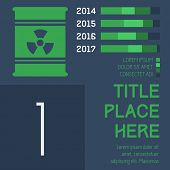 picture of radium  - Flat Infographic Elements - JPG