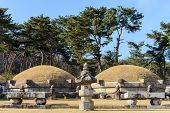 Korean royal tomb