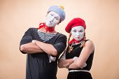 picture of mime  - Close - JPG