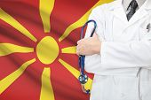 foto of macedonia  - Concept of national healthcare system  - JPG