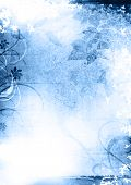 Grunge Background Blue
