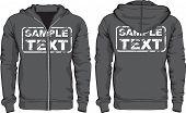 stock photo of hoodie  - Men - JPG