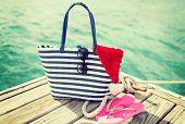 stock photo of beach hat  - beach - JPG