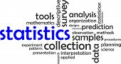 image of statistician  - A word cloud of statistics related items - JPG