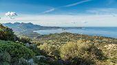 Постер, плакат: Calvi Bay In Balagne Region Of Corsica