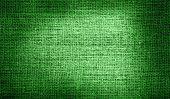image of libya  - Grunge of Libya flag on burlap fabric - JPG