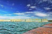 image of sankt-peterburg  - View of Saint Petersburg from Neva river - JPG