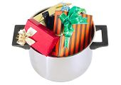 image of saucepan  - Funny Christmas and New Year - JPG