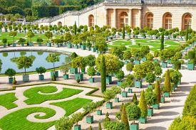 foto of versaille  - Palace Versailles Royal Orangery - JPG