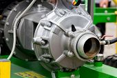 pic of lube  - Part of an engine exhibiting on a fair show - JPG