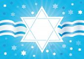 picture of sukkoth  - Abstract background from the stars of David - JPG