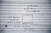 pic of katrina  - Political graffiti on wall after Hurricane Katrina - JPG