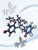 image of chemotherapy  - Taxol chemotherapy drug - JPG