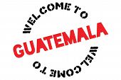 Guatemala Typographic Stamp. Typographic Sign, Badge Or Logo poster