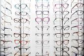 Rack With Frames For Glasses poster