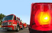 picture of emergency light  - Beacon emergency light - JPG