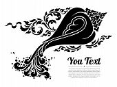 Thai Conch Isolate Vector. Hand Drawn Thai Conch Shell On Water, Line Thai Is Thailand Style And Tat poster