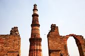stock photo of qutub minar  - Qutub  - JPG