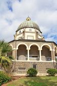 image of beatitudes  - Basilica and colonnade at Mount Beatitudes - JPG