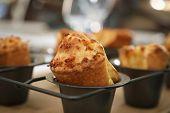 British Food - Yorkshire Pudding, British Style Popover poster