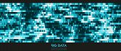 Big Data Colorful Visualization. Futuristic Infographic. Information Aesthetic Design. Visual Dna Da poster