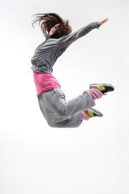 picture of ballet dancer  - beautiful young hip - JPG