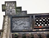 Ancient Chinese House Roof Designs Singing Bird Tree West Lake Hangzhou Zhejiang China