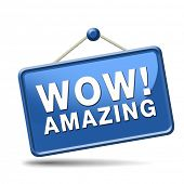 foto of you are awesome  - awesome icon or wow sign excellent and super mind blowing product - JPG