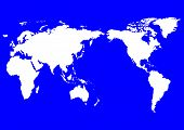 picture of world-globe  - world map asia centered - JPG