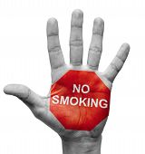No Smoking - Stop Concept.