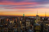 image of empire state building  - NEW YORK CITY  - JPG