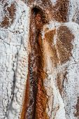 image of salt mines  - Maras salt mines in the peruvian Andes at Cuzco Peru - JPG