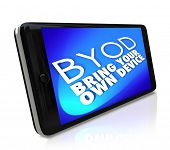 BYOD Acronym Smart Cell Phone Policy Bring Your Own Device