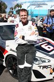 LOS ANGELES - APR 1:  Phil Keoghan at the Toyota Grand Prix of Long Beach Pro/Celebrity Race Press D