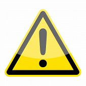 foto of warning-signs  - Warning icon as a symbol of warning sign - JPG