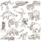 stock photo of dinosaurus  - DINOSAURS  - JPG