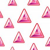 Triangle diamond background