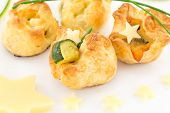 foto of starlet  - puff pastry appetizers ideal for buffet or snacks - JPG