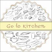 pic of crockery  - go to kitchen - JPG