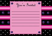 picture of sweet sixteen  - An invitation card for parties - JPG