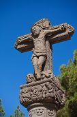 picture of parador  - Cruz de Tejeda mark of the centre of Gran Canaria - JPG