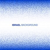 picture of israel israeli jew jewish  - Abstract Background using Israel flag colors - JPG